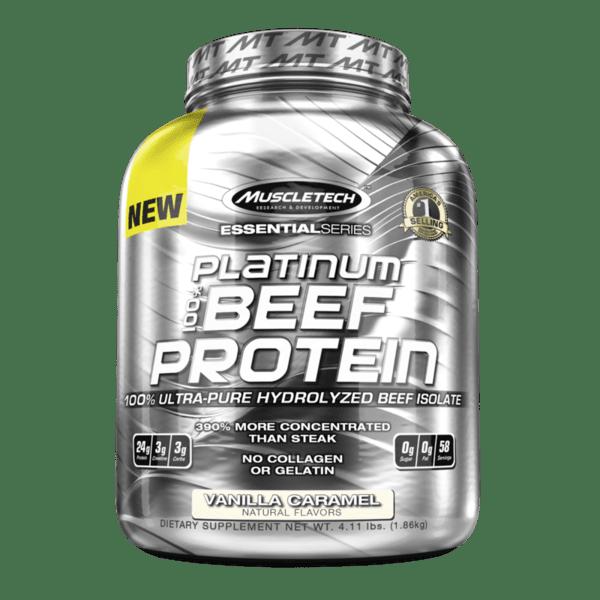 MuscleTech Platinum 100% Beef Protein 1.86kg (4.11lb)